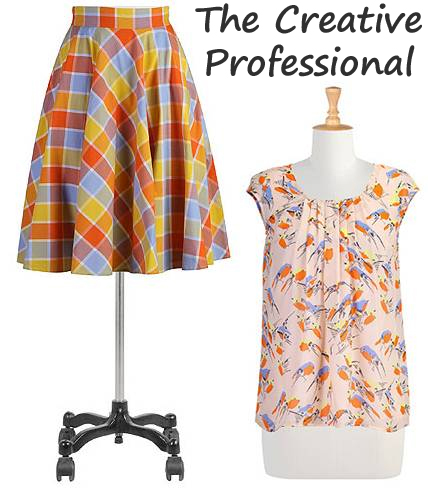 creative professional outfit