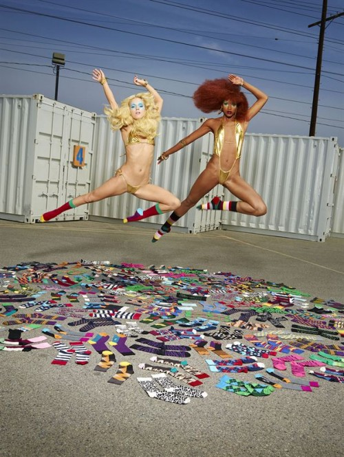 david lachapelle happy socks 2
