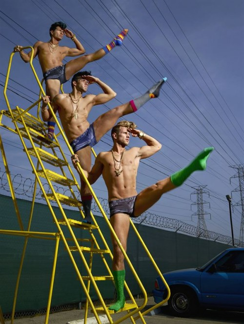 david lachapelle happy socks 3