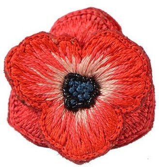 poppie brooch