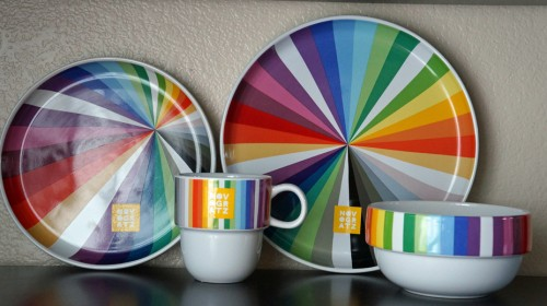 Chic stylish and created for a fashion and lifestyle connoisseur the Novogratz Dinnerware Collection features beautiful bold designs in striking ... & Brighten Up the Table with the Novogratz Dinnerware Collection