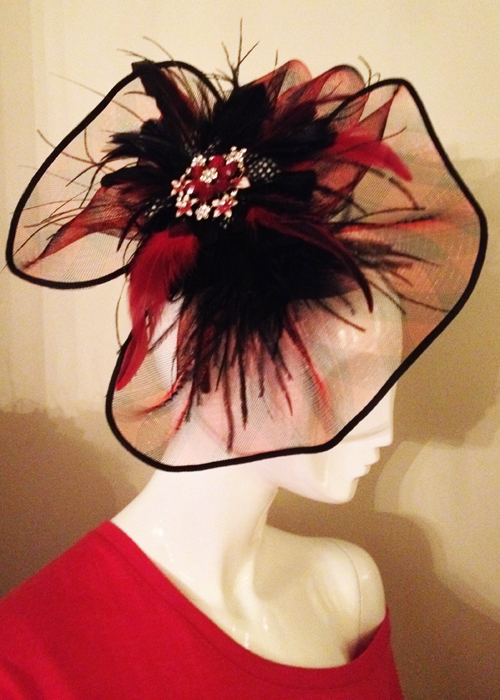 icjuk hair fascinator