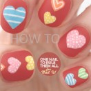 Valentine's Day Nails Tutorial from Nail It!