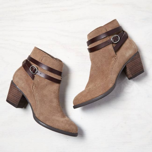 Under $100: Booties with Straps