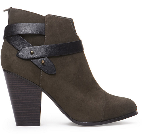 FOREVER 21 Wrapped Faux Suede Booties, $35.