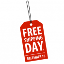 Free Shipping Day December 18th