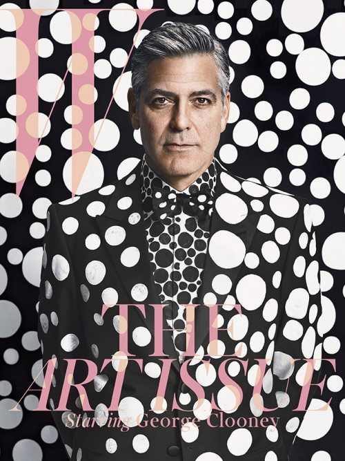 George Clooney cover from December/January 2013 - Emma Summerton