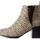Under $100: Leopard Print Ankle Boots