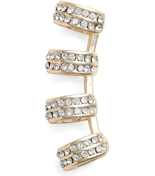 Jules Smith Crystal Ear Cuff, $100 at Nordstrom.