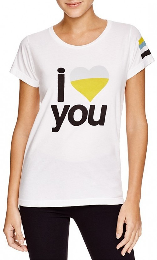 Free City I Love You Graphic Tee, $86