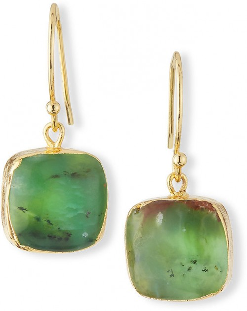 Jade Earrings, $60