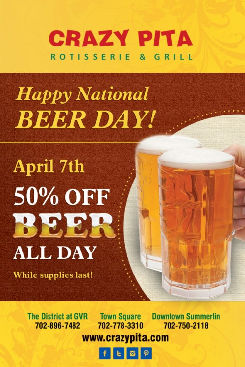 Beer Day with Headers