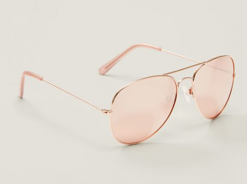 Gilded Aviator Sunglasses, $24.50 at LOFT