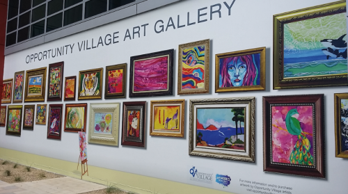 opportunity village art