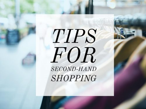 Tips for Second-Hand Shopping