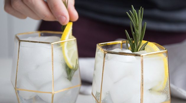 You Need These Geo Glasses on Your Holiday Table