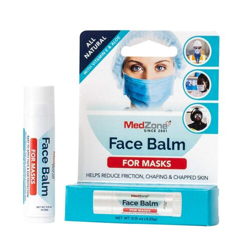 This is a product image of MedZone Face Balm for Face Masks as seen on Amazon.