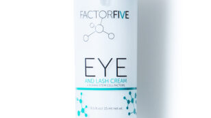This is a product photo of FACTORFIVE Eye and Lash Cream.
